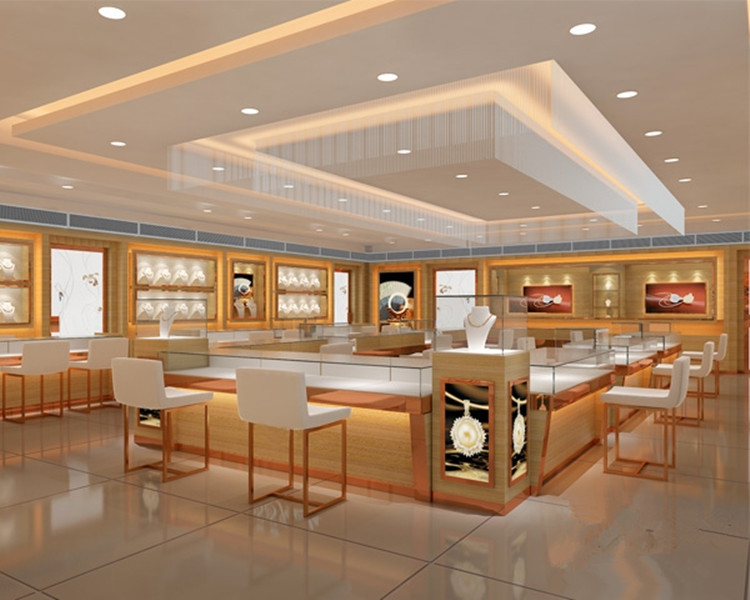 3d rendering jewellery shop interior design decoration for Architect 3d gold