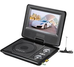 Home Car DVD Player 7 inch Portable Desktop DVD EVD VCD AV 300 Games DVD Player