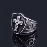 The New Fashion Cutting High Quality Rings Men Stainless Steel Ring