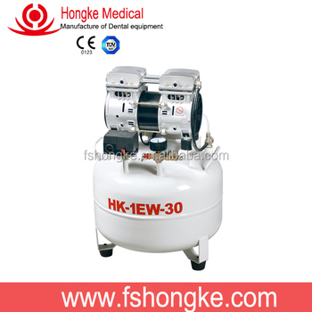 hongke factory price for russia market with dental oil free compressor