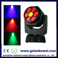 Disco light New dj disco stage 7x15w rgbw 4in1led beam led moving head