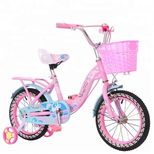 hot selling beautiful lovely cheapest price children bike bicycle kids bikes with auxiliary wheel for girl