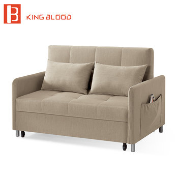 New An Foam Folding Fabric Sofa Bed For