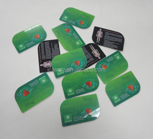 PVC plastic Bio energy FIR Anti radiation negative ions card with best price