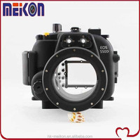 Meikon 40M waterproof DSRL camera housing For Canon EOS T2i(Lens 18mm-55mm)