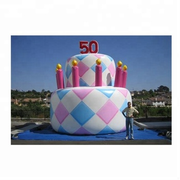Surprising Giant Inflatable Birthday Cake Inflatable Cake Balloon For Party Funny Birthday Cards Online Fluifree Goldxyz