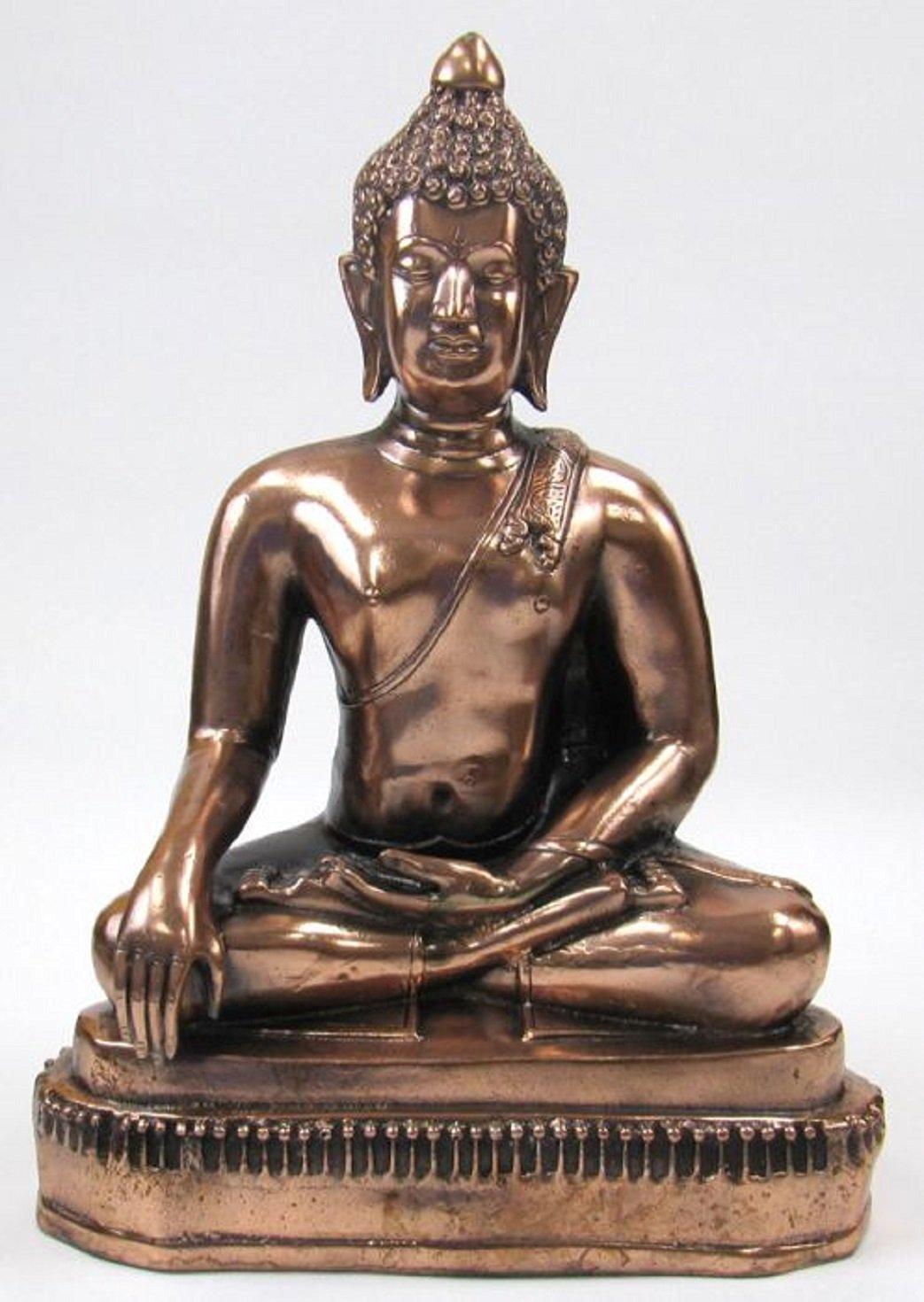 Natraj - Shiva - Statue, In Aluminum Copper Finish, 24 Inches Tall