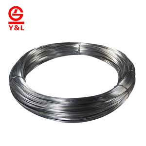 Low price galvanized electric coated iron flat wire