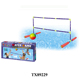 water football field, inflatable water soccer field