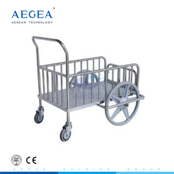 AG-SS026 popularity priced 304 stainless steel laundry trolley dressing cart