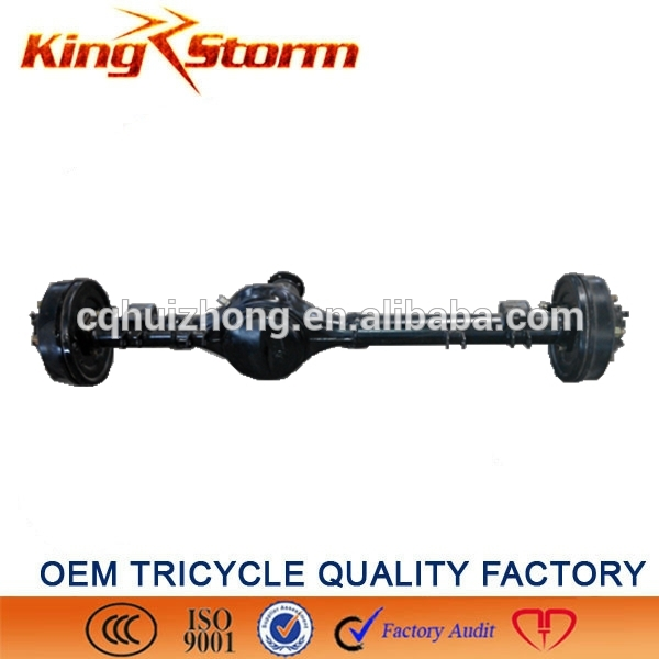 China King-Storm Motorcycle 220drum 5 hole 12:18 rear axle big rooster parts tricycle rear axle