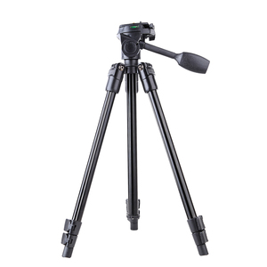 "51.6 ""china factory direct sale Aluminum Alloy Tripod With Universal 1/4-Inch Tripod Screw Mount Handle Ball Head"
