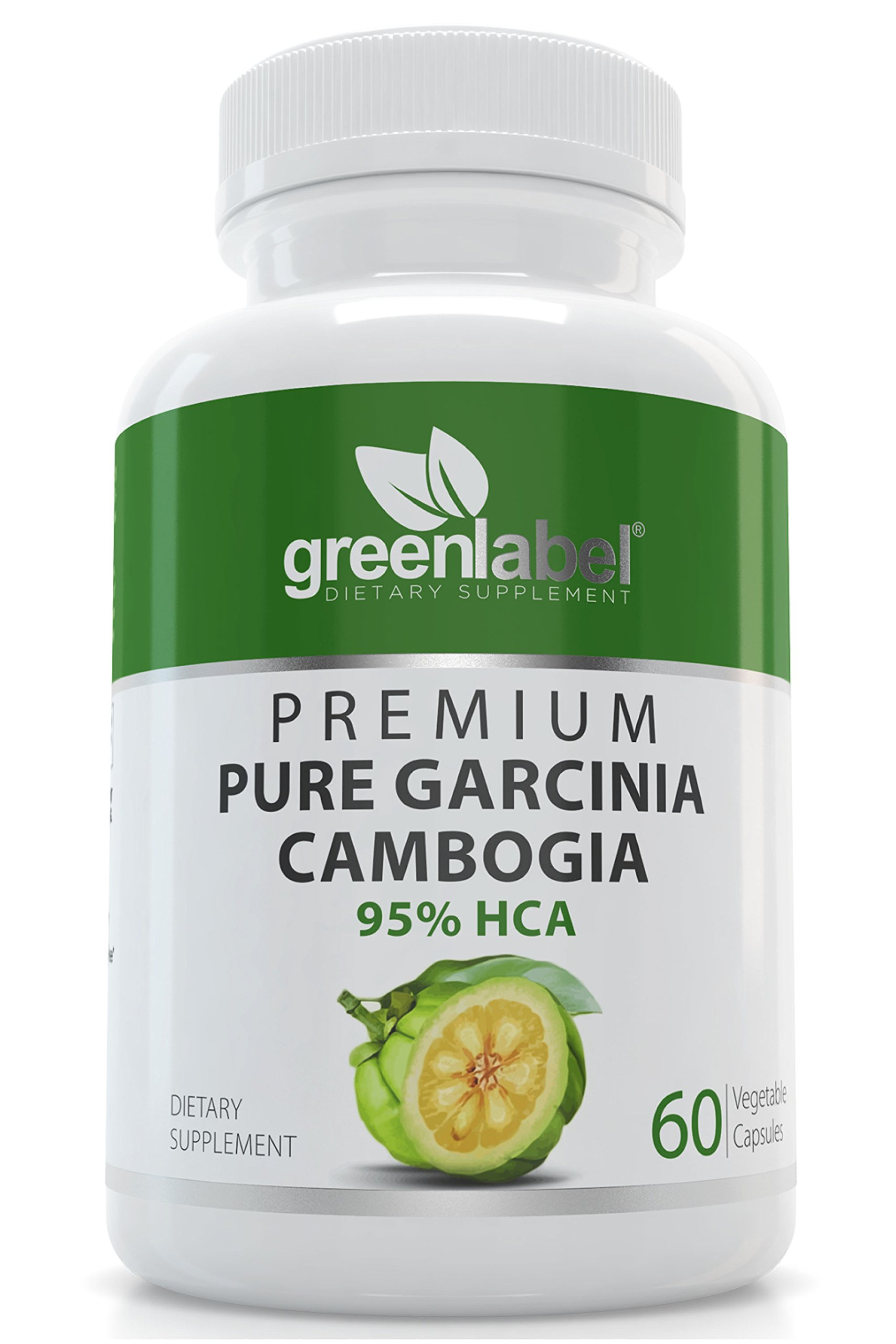 Garcinia Cambogia ***100% Pure Extract + 95% HCA, Natural Fast Acting Fat Burner, Carb Blocker + Slimming Aid, Best Diet Supplement, Appetite Suppressant + Weight Loss Pills, For Women + Men.