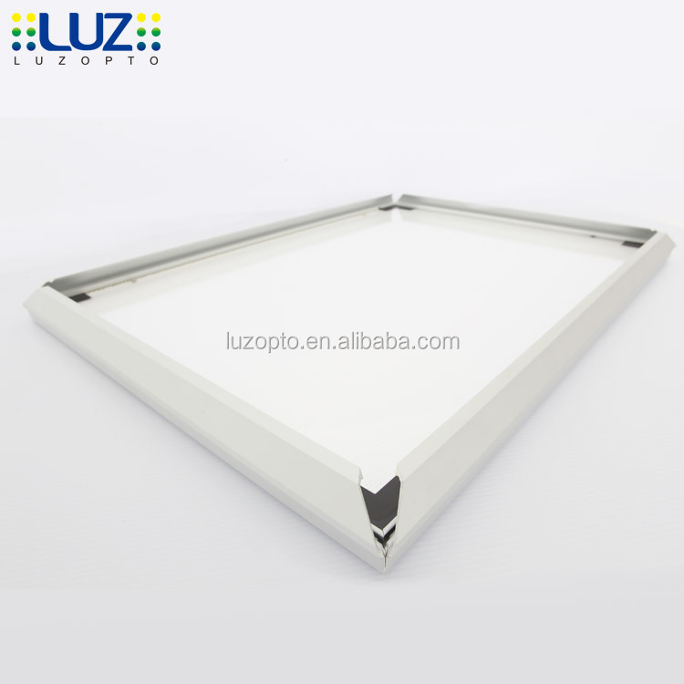 Indoor and outdoor poster LED wall light box, Aluminium profile customized size LED cinematic light box