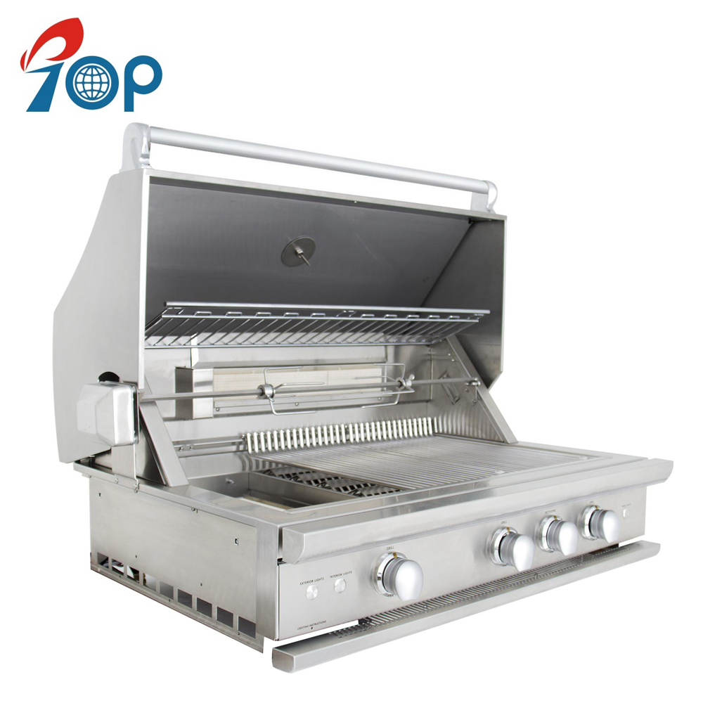 GEE YU STAINLESS STEEL GAS BARBEQUE GRILL BURNER OUTDOOR ISB-02