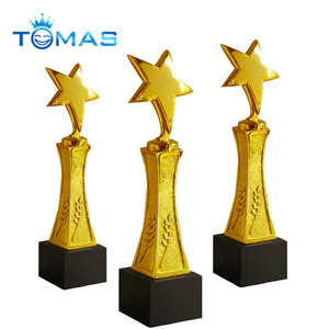 New arrival pewter trophy modern hot sell metal trophy awards cup with abstract