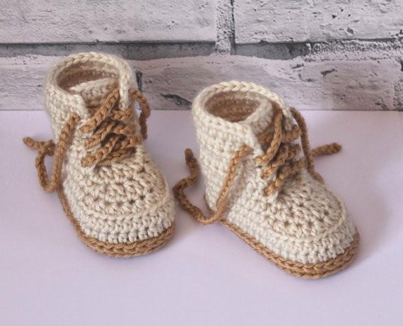 Großhandel Häkeln Sie Babyschuhe Baby Boys Booty Combat Stiefel