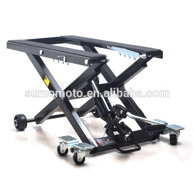 Motorcycle Cruiser Scissor Mx Stand Universal Steel Motocross Dirt