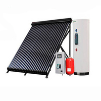 2018 New food grade 2014 high capacity separate solar heatr equipment (heat pipe &amp CE Approval) Split Water Heating System