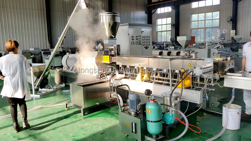 Waste PP PE PVC ABS PET HIPS Plastic granulator Recycle plastic granule making machine