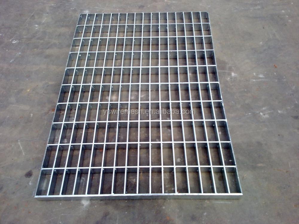 De acero galvanizado de malla abierta pisos galvanizado - Malla de acero galvanizado ...