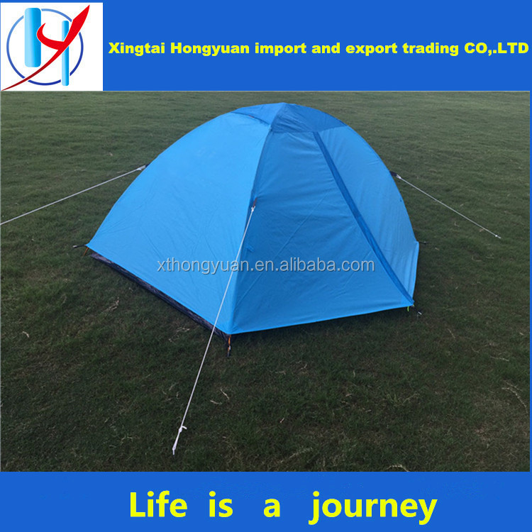 nylon waterproof tent fiberglass pole camping 4 person family camping car roof tent camping tent