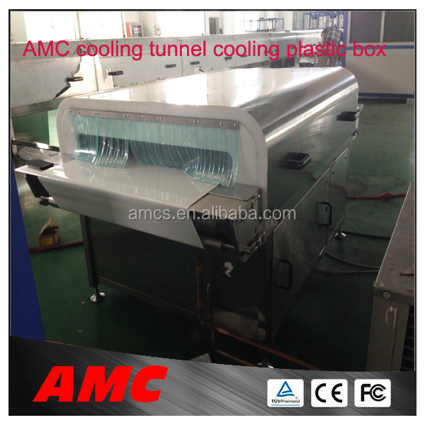 Reliability Universal CFC-free Insulation commercial vacuum sealer Cooling Tunnel For Production Line