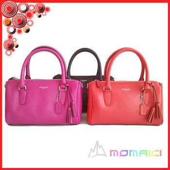 b33cad28a65 designer brand name Import top layer leather handbag collocation tassels  fashion exquisite bag for cute girls