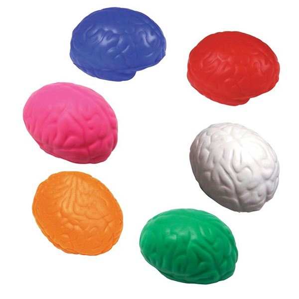 Brain Shaped Squeezies Stress Relievers