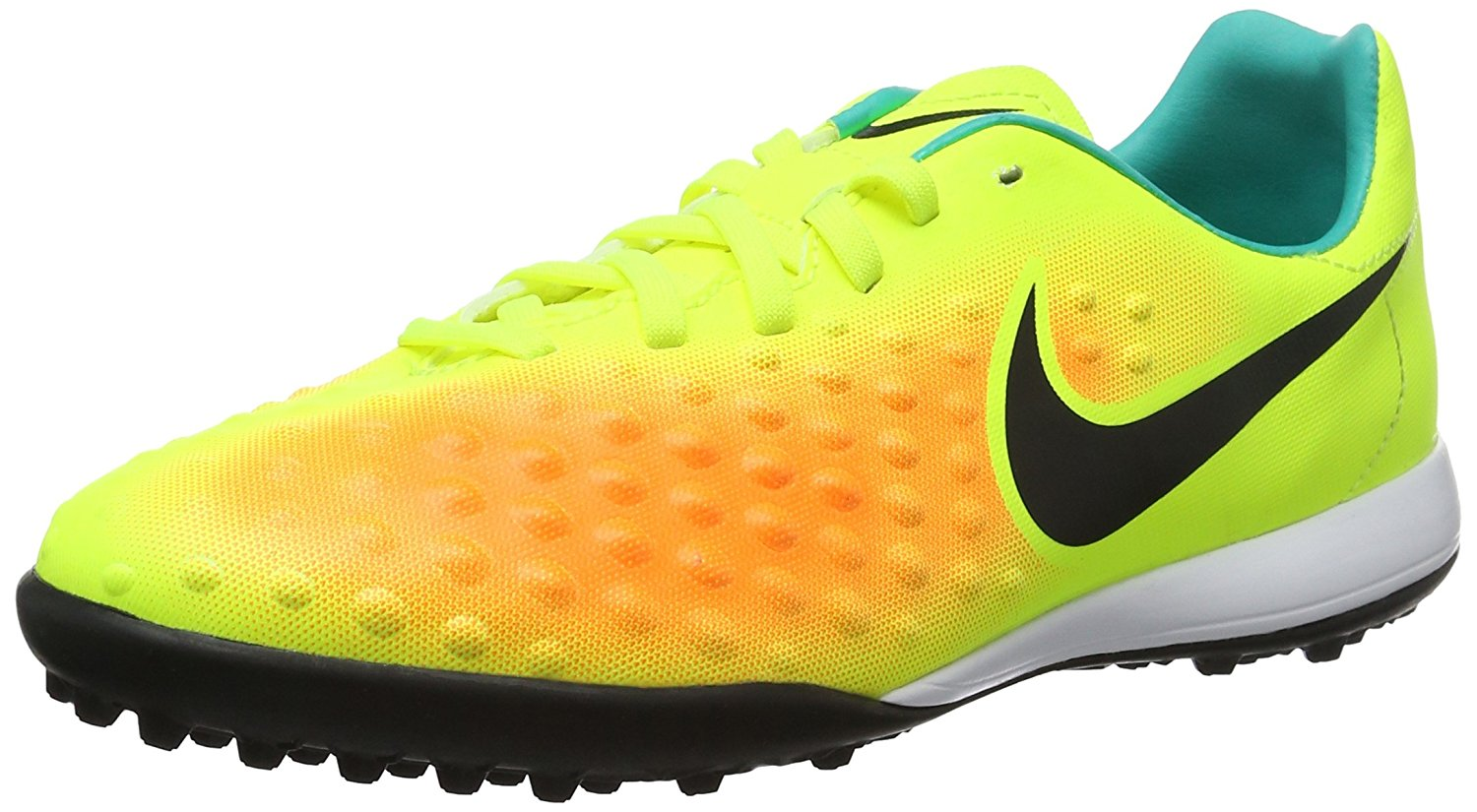 Get Quotations · Nike Kids  Jr. Magista Opus II TF Turf Soccer Cleat (Volt 8c1daff0de0a