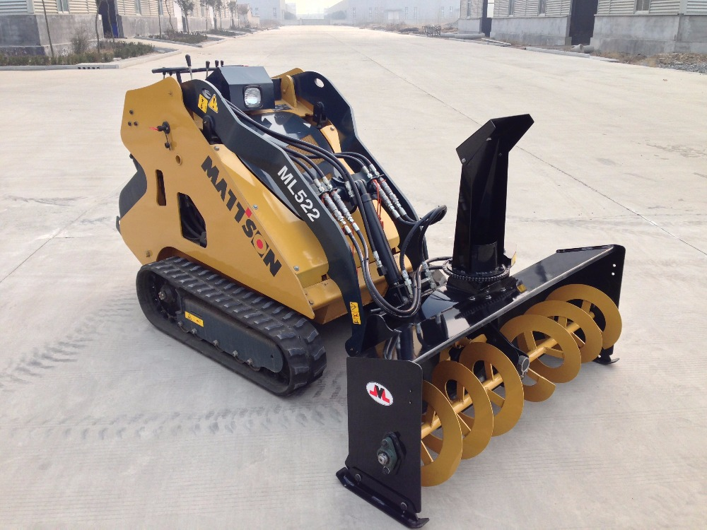 MATTSON mini pista skid steer loader mini crawler apripista per la vendita