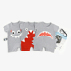 Wholesale funny clothes 0-24M Gift set knitted baby clothes