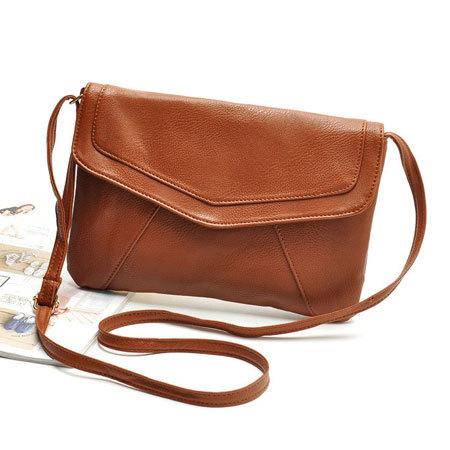 4c69bf25d097 2015 Women Leather Envelope Shoulder Bags Ladies Small .