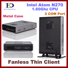 New Intel Atom N270 1.60Ghz Thin Client Computer, Mini PC with 2GB RAM, 2 COM, 32 Bit, 720P Video supported