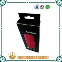 Custom printing retail window display kraft cell phone case paper packaging box