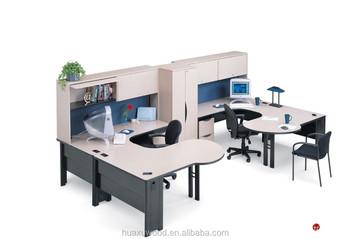 Huaxu Economy Furniture 2 Person Corner Office Desk