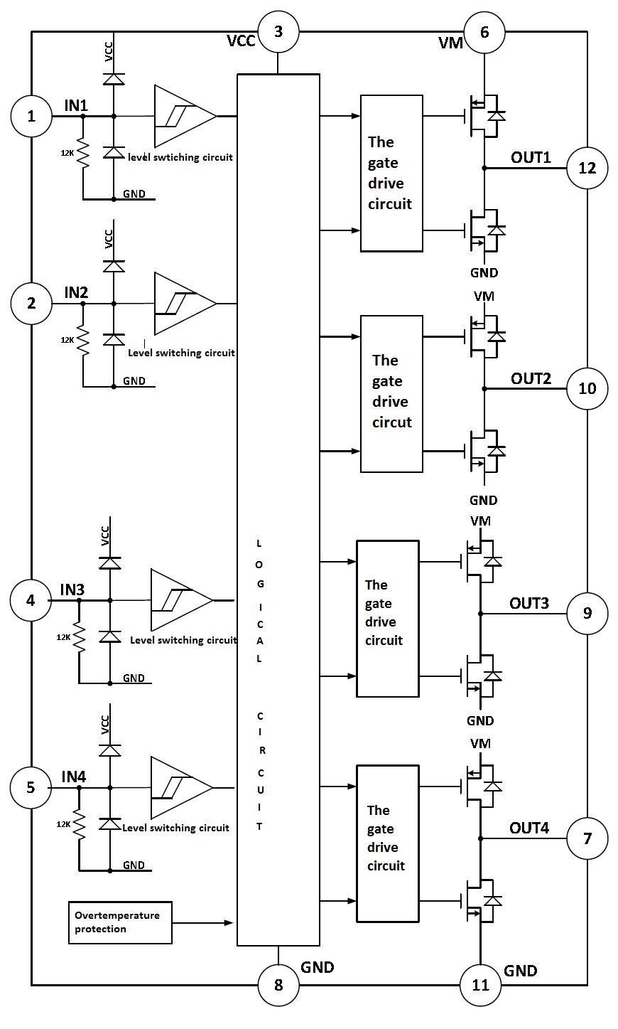 Dual Channel Full Bridge Dc Motor Driver For Bipolar Stepper Driving Motors Ek3902