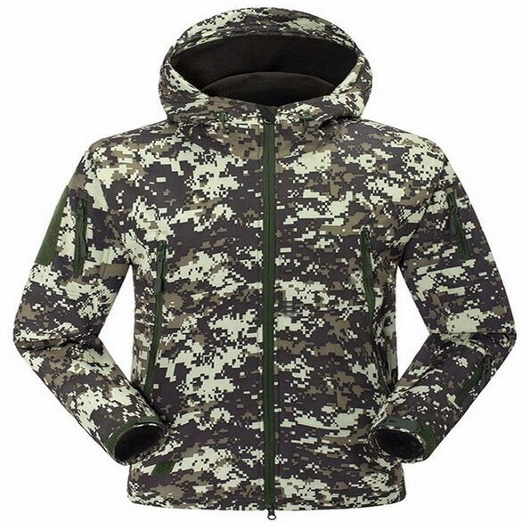 Camouflage Hunting Pullover Fleece Hoodie Sports Hoody Camo Sweatshirt Outdoor Camo Hunting Hoodie Jumper