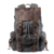 2019 Online wholesale outdoor large capacity waxed canvas  waterproof hiking travel backpack