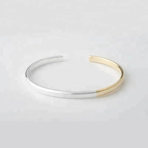 Simple models design Indian 18k 24k gold plated bangle