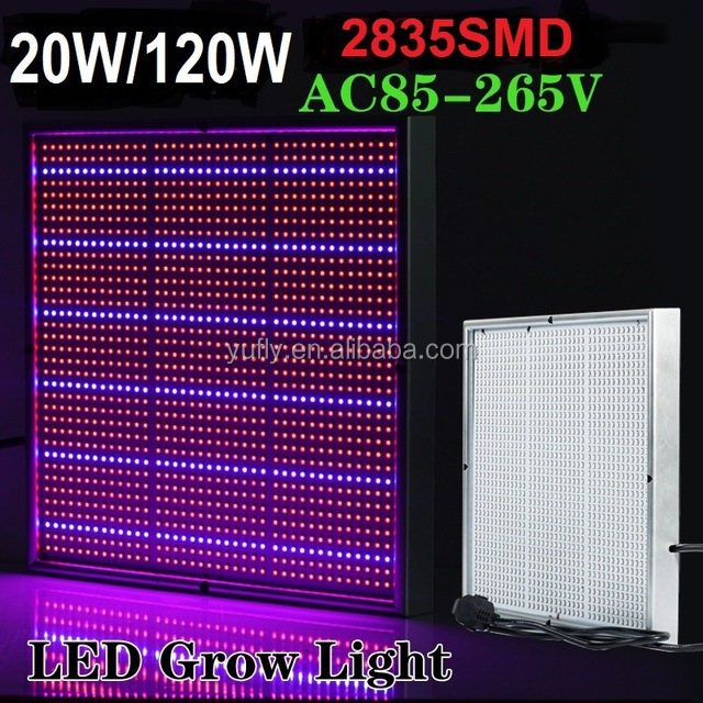 high lumen 120w panel COB 16 band commercial grow light for tents