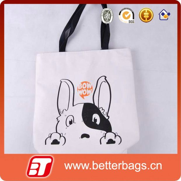 sublimation printed pet shopping bag