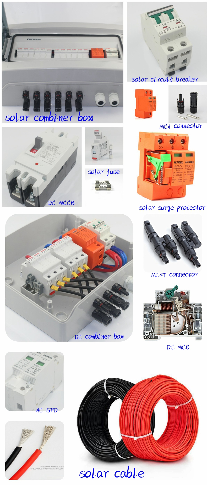 Hrpv 16 1 Input Output Strings Pv Solar Panel Combiner Box String Wiring Product