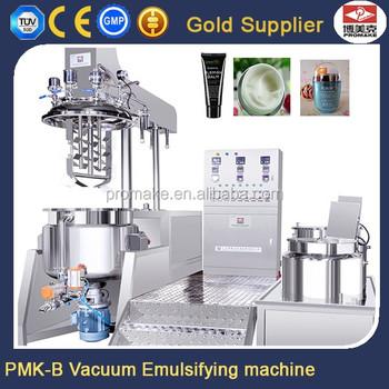 Lowest Priice Hydraulic Vacuum Cosmetic Ice Cream Mixer Elevator Emulsifier  Homogenizer Machine For Sale - Buy Vacuum Emulsifying Mixer,Cosmetic Cream