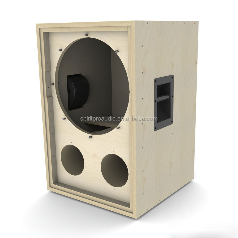 Oem China Manufacturer Spla 01 Wooden Professional Empty 18 Inch Subwoofer Speaker Cabinets For Cf18vjd Drive