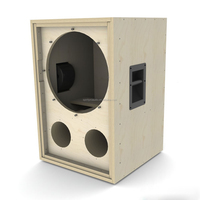Oem China manufacturer SPLA-01 wooden professional empty 18 inch subwoofer speaker cabinets for CF18VJD drive