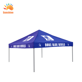 China Factory direct sales 3x3m custom logo printed canopy tents for event advertising