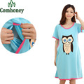 Maternity Sleepwear for Pregnant Women Short Sleeve Summer Maternity Nightgown for Pregnancy Nursing Clothes for Pregnant