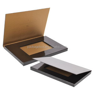 Hot gift card packaging / playing card display case / custom wedding invitation card Holder box for business card drop box