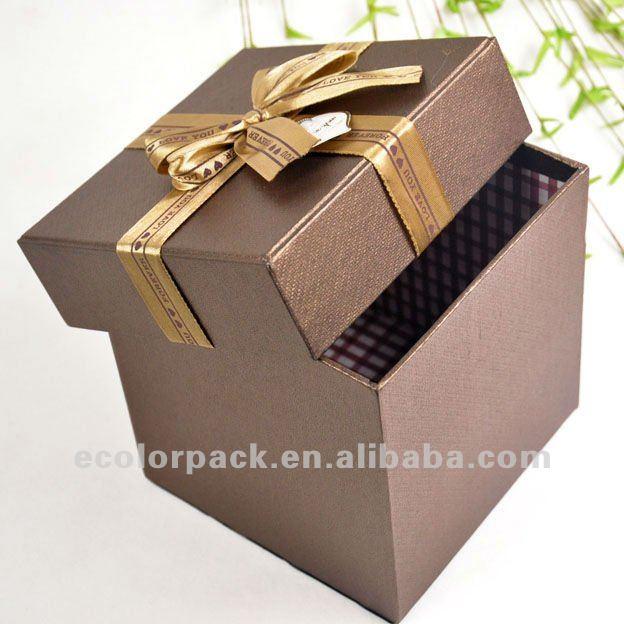 coffrets cadeaux de luxe en gros boîte-cadeau boîtes À cadeaux bon